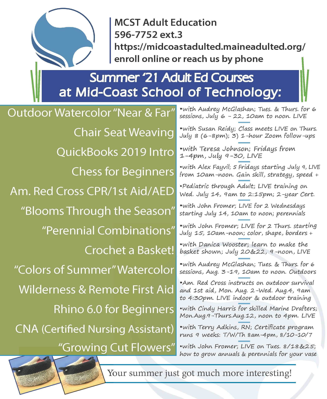 Mid-coast School of Technology Adult Education image #2348
